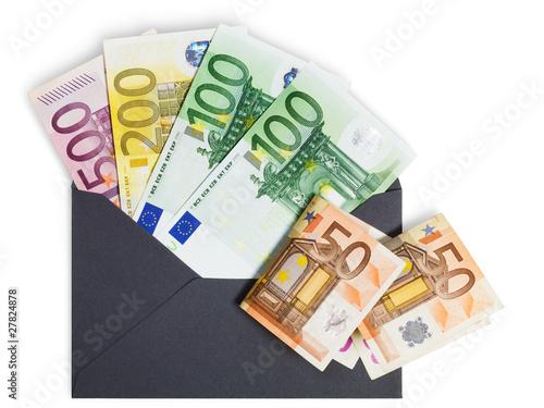 Umschlag mit 1000 Euro из Irina Fischer, Роялти-фри стоковое фото ...