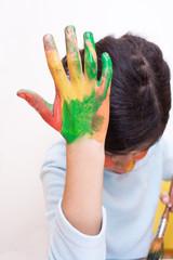 mano dipinta