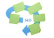 seo concept with free textspace