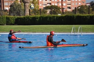 Deportes de agua.