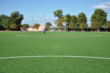 Campo de futbol.