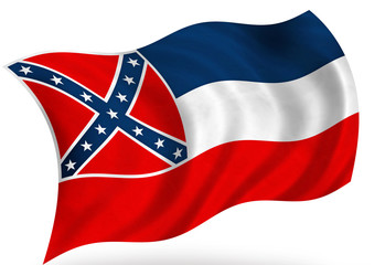 Mississippi (USA) flag