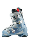Hi tech ski boot profile on white