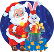 Santa and Rabbit