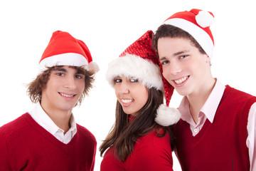Happy christmas teens