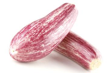 strip eggplant