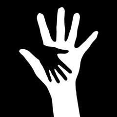 Helping hands.