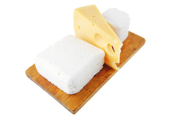 french and greek cheeses