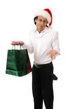 Broke Christmas shopper poster