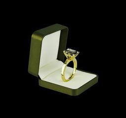 Ring in ring box