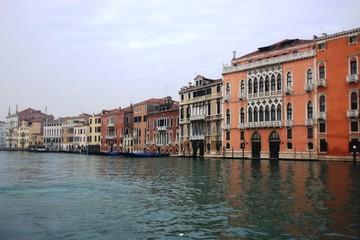Des palais le long du grand canal