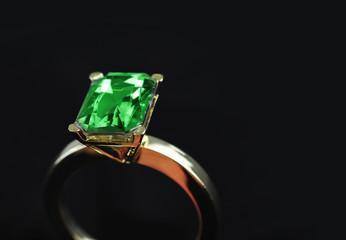 Large Emerald ring