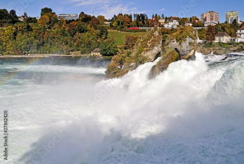 Am Rheinfall,Schweiz