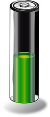 batteria verde