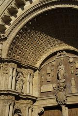 Entrada Catedral Palma Mallorca Baleares