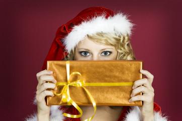 Was siehst du? Dein Weihnachtsgeschenk?