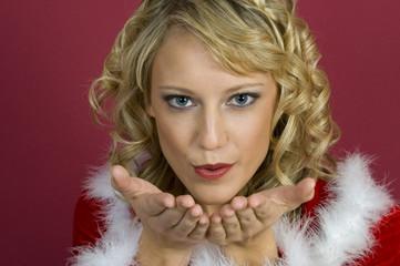 Ein Weihnachtskuss für dich.