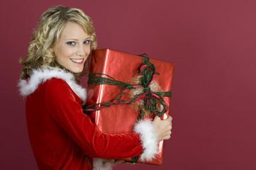 Ich habe mein Weihnachtsgeschenk schon.