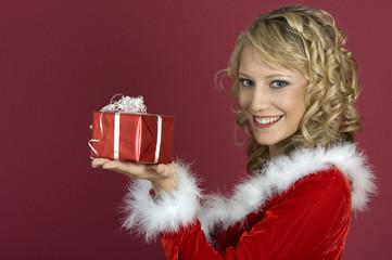 Es ist Weihnachten-Geschenk