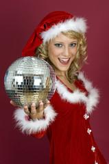 Weinachtsfeier-Santa Claus