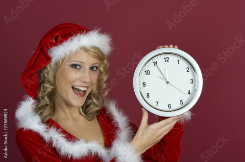 Last Minute-Fünf vor Zwölf-Santa Claus