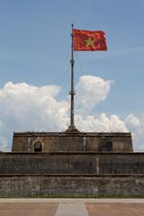 Vietnam Flag Portrait