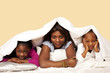 Bedtime woes, unhappy kids as young mother tries to make them sl