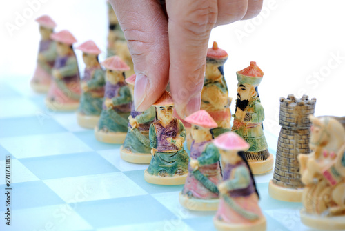Chinese Chess Pieces