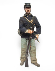 Muñeco guerra civil americana
