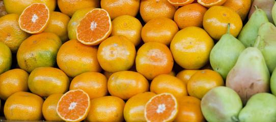 orange and pear