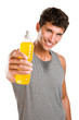 Fitness refreshment with energy drink
