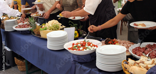 In de dag Buffet, Bar catering service