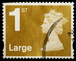 EnglishFirst Class Large Letter Postage Stamp, circa 2006