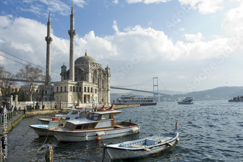 Foto op Canvas Turkey where two continents meet: istanbul