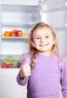 Daumen hoch für gesunde Ernährung