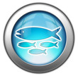 "Glossy 3D effect button ""Fish Hatchery"""