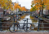 Canal and Bike in Amsterdam