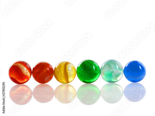 Multi-colored Marbles - 27892290