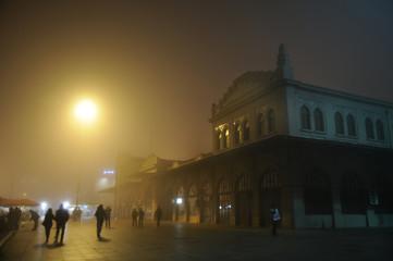 Fog In Kadikoy, Istanbul - Turkey