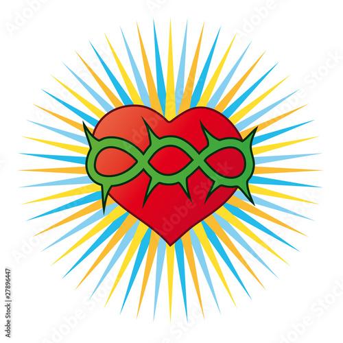 cuore, simbolo cristiano