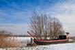 Am Ufer der Oder.