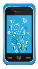 Mobile. Vector illustration