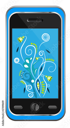 Mobile. Vector illustration