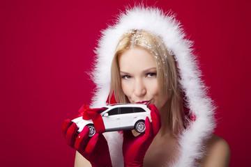 küss das auto geschenk