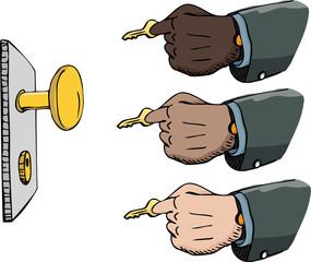 Using a Key