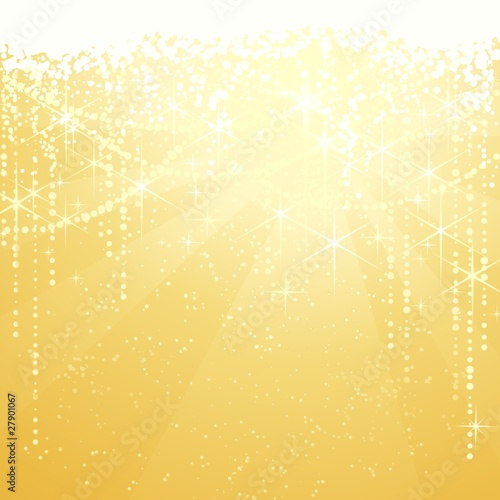Golden Chrismtas sparkle