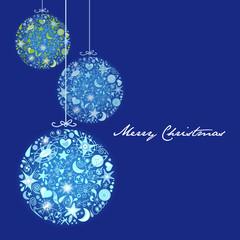 bolas de navidad con astros