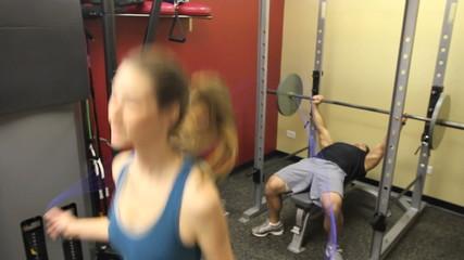 Female Jump Rope in Gym 2