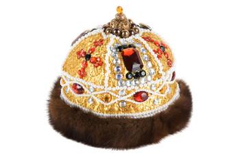 Regal kings fur crown