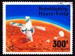 Upper Volta Stamp Viking Space Explorer Ship Lander Mars